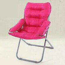 L-R-S-F Faul Sofa Stuhl, Computer Stuhl, Heimtextilien Rückenlehne Stuhl, Klappstuhl, lässig Faul Sofa kann liegen Stuhl ( Farbe : 3# )