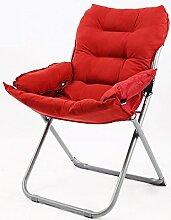 L-R-S-F Faul Sofa Stuhl, Computer Stuhl, Heimtextilien Rückenlehne Stuhl, Klappstuhl, lässig Faul Sofa kann liegen Stuhl ( Farbe : 4# )