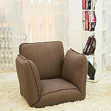 L-R-S-F Faules Sofa-einzelner Faltbarer Bett-Rückenlehnen-Stuhl-Sandwich-Fenster-Sofa-Raum-fauler Stuhl