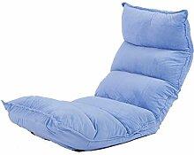 L-R-S-F Lazy Sofa, Bett Computer Stuhl, Zurück Lazy Single Kleine Sofa, Falten japanischen Schlafsaal Bay Fensterboden Sofa ( Farbe : 6# )