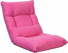 L-R-S-F Lazy Sofa, Einzelbett Lazy Chair, Bay Fenster Stuhl, Zurück Lazy Sofa, Faltbares Schlafzimmer, Schlafsaal ( Farbe : 1# )