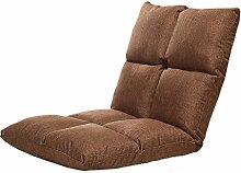 L-R-S-F Lazy Sofa, einzigen kleinen Schlafsofa Computer Rückenlehne, schwangere Frau zurück Sofa Stuhl ( Farbe : 3# , größe : 52*55*55cm )