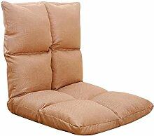 L-R-S-F Lazy Sofa, Folding Single kleine Sofa, Bedside Computer Stuhl, japanische Sofa Stuhl ( Farbe : 8# )