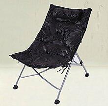 L-R-S-F Lazy Sofa, Lunch Chair Liegen, Büro Waschbecken Stühle, Klappstuhl Single Casual Stuhl, Rückenlehne Stuhl, Sonnenliegen ( Farbe : 4# )