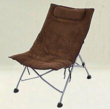 L-R-S-F Lazy Sofa, Lunch Chair Liegen, Büro Waschbecken Stühle, Klappstuhl Single Casual Stuhl, Rückenlehne Stuhl, Sonnenliegen ( Farbe : 5# )