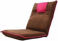 L-R-S-F Lazy Sofa, Sofa-Bett, Einzel-Rückenlehne Stuhl, schwimmende Fenster Stuhl ( Farbe : 2# )