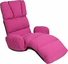 L-R-S-F Lazy Sofa, Wohnzimmer, Schlafzimmer Mehrzweck-Lounge-Stuhl, Abnehmbarer Waschbarer Klappstuhl ( Farbe : 3# )