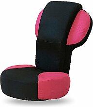 L-R-S-F Liege Sofa Stuhl Einzigen Klappstuhl Boden Schlafsofa Rückenlehne Stuhl ( Farbe : Rot )