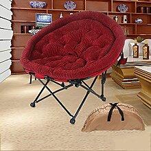L-R-S-F Lounger Sofa, Lounge Chair, verstärkte Klappstuhl, Einzelsessel, Computer Zuhause Stuhl, Mittagspause Stuhl ( Farbe : A9 )