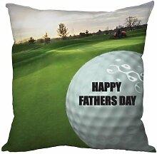 L&S PRINTS FOAM DESIGNS Väter Tag Geschenk Golf Ball Design, hergestellt in Yorkshire tolle Geschenkidee für Vater Golfer