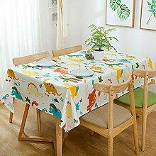 L/S Weiß Tischdecke Kinder Abwaschbar 60x60