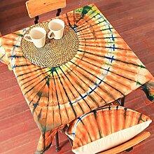 L&Y Hotel Tischdecke, Büro-Hotel rechteckige pastorale Tischdecken, Casual Dining Tischdecken, Konferenz Tischdecken, neue Kunst ( Farbe : Gelb )