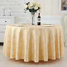 L&Y Hotel Tischdecke Tischdecke gelb Tischdecke, Konferenz Bankett Tischdecke ( größe : 260CM )