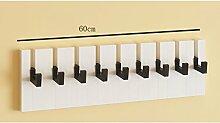 L&Y Klassische Kleiderbügel Kleiderbügel Haken Wandhalter Aufhänger Wandhalter ( größe : M )