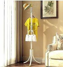 L&Y Klassische Kleiderbügel Kleiderständer Landing Einfache moderne Umwelt Wohnzimmer Montage Multifunktionale Kreative Racks ( Farbe : Gold )