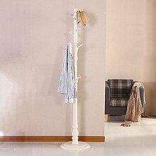 L&Y Kleiderablage Kleiderbügel aufhänger Europäischen Stil Hause Holz Kreative Europäischen Stil Schlafzimmer Einfache Wohnzimmer Garderobe ( Farbe : C )