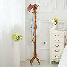 L&Y Kleiderablage Kleiderbügel aufhänger Mantel Rack Schlafzimmer Modern Simple Solid Hölzerne Hanger ( Farbe : #4 )