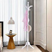 L&Y Kleiderablage Kleiderbügel aufhänger Massivholz Hut Rack Boden Schlafzimmer Kleiderständer Kleiderbügel Einfache Kleiderbügel Hut Rack Modern Kleiderständer ( Farbe : A )