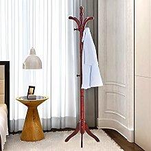 L&Y Kleiderablage Kleiderbügel aufhänger Massivholz Hut Rack Boden Schlafzimmer Kleiderständer Kleiderbügel Einfache Kleiderbügel Hut Rack Modern Kleiderständer ( Farbe : C )