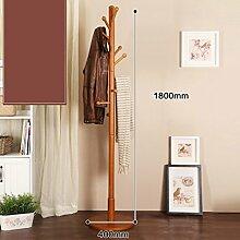 L&Y Kleiderablage Kleiderbügel aufhänger Massivholz Schrank Rack Schlafzimmer Racks Einfache moderne Wohnzimmer Einfache Kleidung Rack ( Farbe : O )