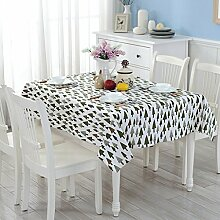 L&Y Rechteckige, Leinenbaumwolltischdecken, Farbe Tischtuch Tischtuch Handtuch ( größe : L )