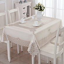 L&Y TABLECLOTH, PVC PlLASTIC TABLECLOTH, SUNSCREEN WATERPROOF TABLECLOTH, rechteckig, 135 * 180CM ( Farbe : G )