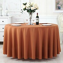 L&Y Tischdecke Tisch Tischdecke ( Farbe : Braun , größe : 280CM )