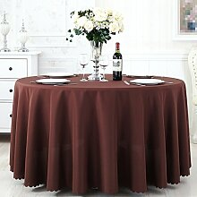L&Y Tischdecke Tisch Tischdecke ( Farbe : S Coffee , größe : 320CM )