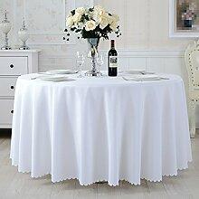 L&Y Tischdecke Tisch Tischdecke ( Farbe : Weiß , größe : 320CM )