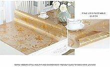 L&Zr PVC-Tischdecke, Wachstuch, rechteckig