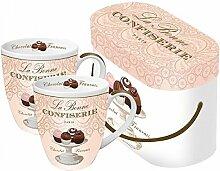 La Bonne Confiserie Henkelbecher Kaffee Cup Set
