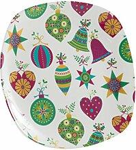 La Cija Bolas de Navidad -Quadratische Backform