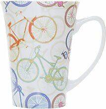 La Cija Fahrräder–Konische Tasse aus feinem
