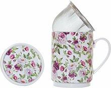 La Cija Rose Garden–Teetassenset aus