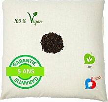 La Cocarde Verte - Organisches Buchweizen-Kissen -