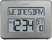 La Crosse Technology C86279Atom-Uhr mit extra
