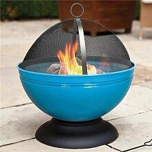 La Hacienda Globe emailliert Feuerstelle mit Grill