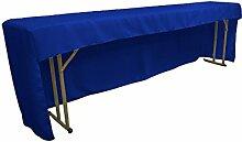 LA Linen Tischdecke mit offener Rückseite,