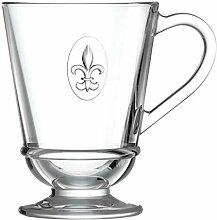 La Rochere 6390.01_ 484Kaffeetassen, Glas, klar