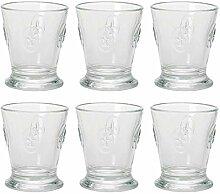 La Rochere 6X5102 Wasserglas mit französischer