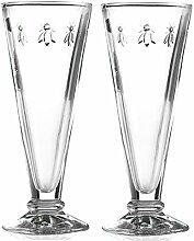 La Rochere Set von 2Bee Design Glas Champagner