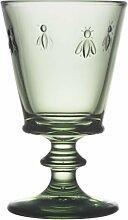 La Rochere - Verre A Vin - Abeille - Weinglas - grün - Glas - 240 ml