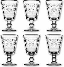 La Rochere - Versailles Weinglas - 20cl - 200ml - (6er-Set)