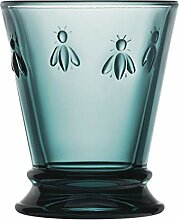 La Rochère Wasserglas Biene Nachtblau 260 ml - 6