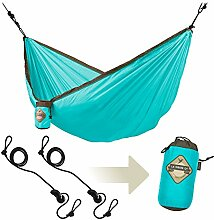 LA SIESTA - Colibri Turquoise - Einzel-Reisehängematte inkl. Befestigung