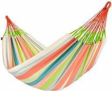 La Siesta Hängematte DOMINGO Farbe Coral Familienhängematte DOH18-8 Hängematte