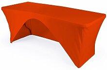LA Tischdecke aus Leinen mit offener Rückseite,