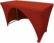 LA Tischdecke aus Leinen mit offener Rückseite