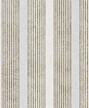 La Veneziana 2 Tapete in weiß, gold, metallic