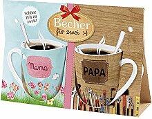 la vida 9705171 Becher für 2 Mama, Papa (1 Stück)